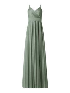 Zielona sukienka Troyden Collection maxi na ramiączkach