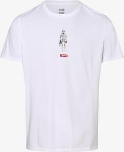 T-shirt Levis z krótkim rękawem z nadrukiem