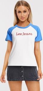 T-shirt Lee Jeans z jeansu
