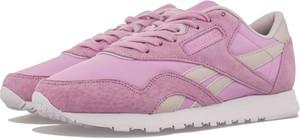 Buty sportowe Reebok sznurowane w street stylu z płaską podeszwą