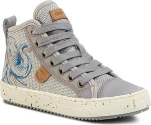 Buty dziecięce zimowe Geox sznurowane