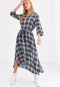 Granatowa sukienka Selected