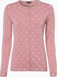 Różowy sweter Marie Lund w stylu casual z dzianiny
