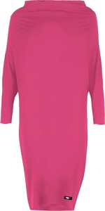 Różowa sukienka By Insomnia w stylu casual