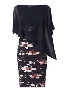 Sukienka Christian Berg Cocktail asymetryczna z szyfonu mini