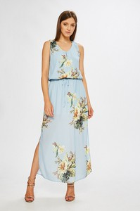 Sukienka Only bez rękawów z okrągłym dekoltem