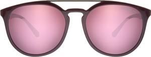 Różowe okulary damskie Emporio Armani