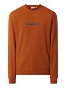 Pomarańczowa bluza Napapijri z tkaniny