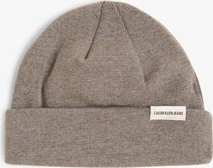 Brązowa czapka Calvin Klein