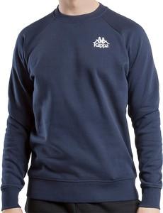 Granatowa bluza Kappa z bawełny