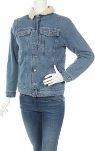 Niebieska kurtka Mavi w stylu casual krótka