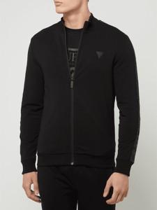 Czarna bluza Guess Activewear z bawełny