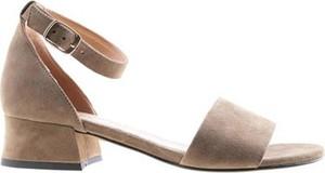 Zielone sandały Lasocki