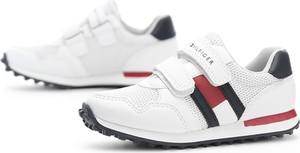 Buty sportowe dziecięce Tommy Hilfiger na rzepy