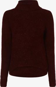 Czerwony sweter Aygill`s z dzianiny w stylu casual