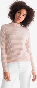 T-shirt YESSICA w stylu casual z długim rękawem