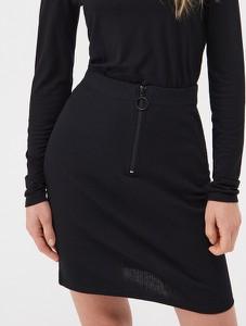 Czarna spódnica Sinsay mini