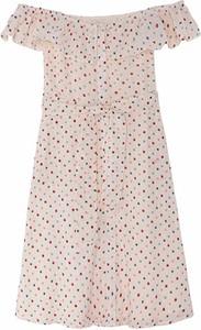 Sukienka Pepe Jeans z bawełny z krótkim rękawem