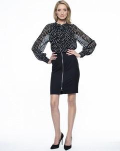 Czarna spódnica L'AF w stylu casual