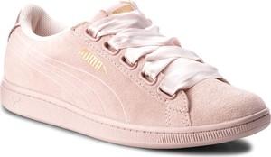 Sneakersy PUMA - Vikky Ribbon S 366416 03 Pearl/Pearl