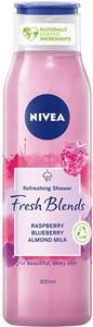 Beiersdorf NIVEA Fresh Blends Żel pod prysznic Malina i Borówka, 300ml