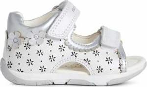 Buty dziecięce letnie Geox ze skóry dla dziewczynek