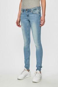 Niebieskie jeansy Noisy May w street stylu z bawełny