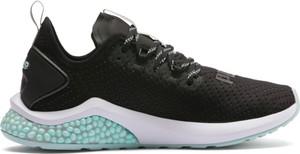 Buty sportowe Puma sznurowane na platformie z tkaniny