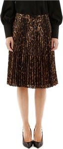 Brązowa spódnica Burberry