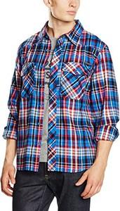 Niebieska koszula Brandit