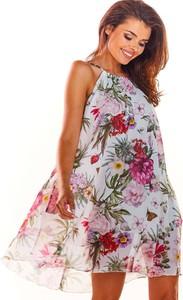 Sukienka Awama bez rękawów w stylu casual