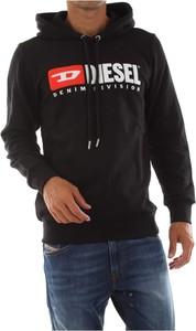 Czarna bluza Diesel w młodzieżowym stylu