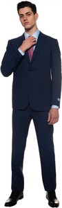 Niebieski garnitur Canali
