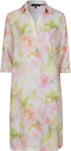 Sukienka Daniel Hechter mini w stylu casual z dekoltem w kształcie litery v