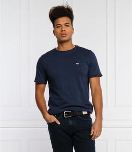 T-shirt Tommy Jeans z bawełny z krótkim rękawem
