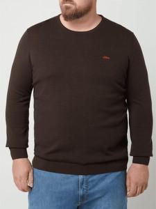 Sweter S.Oliver Red Label z okrągłym dekoltem w stylu casual