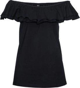 Czarny t-shirt bonprix bpc selection