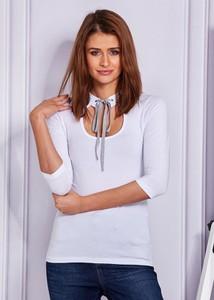 Bluzka Sheandher.pl z długim rękawem z bawełny