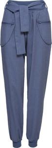 Niebieskie spodnie bonprix RAINBOW