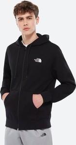 Czarna bluza The North Face z plaru w sportowym stylu