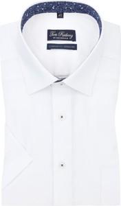 Koszula Tom Rusborg z bawełny z krótkim rękawem
