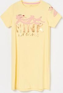 Żółta piżama Reserved