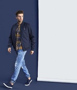 Niebieska kurtka diverse w stylu casual