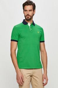 Koszulka polo POLO RALPH LAUREN z bawełny z krótkim rękawem w stylu casual