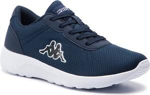 Buty sportowe Kappa sznurowane w młodzieżowym stylu