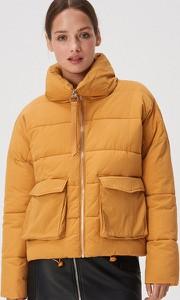 Żółta kurtka Sinsay krótka