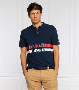 Koszulka polo Tommy Jeans z bawełny