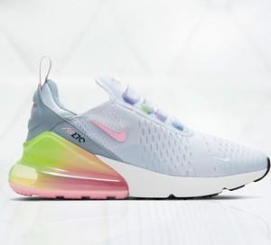 Niebieskie buty sportowe Nike air max 270