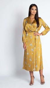 Żółta sukienka Dursi