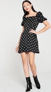 Sukienka V by Very z krótkim rękawem mini